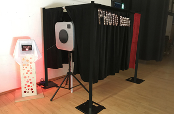Photo Booth drape Events